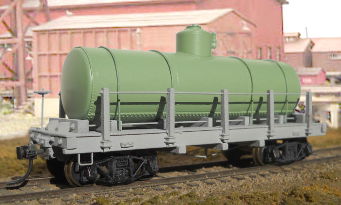 Truss Rod Tank Car in HO