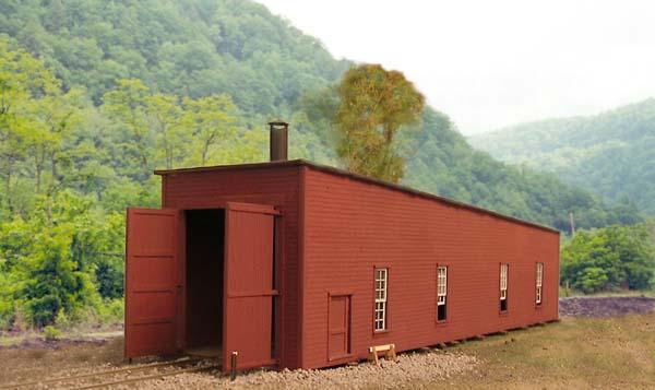 Lionel o gauge engine house