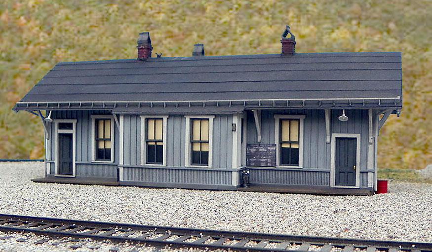 B T S  Special Projects - C&O Quinnimont Depot
