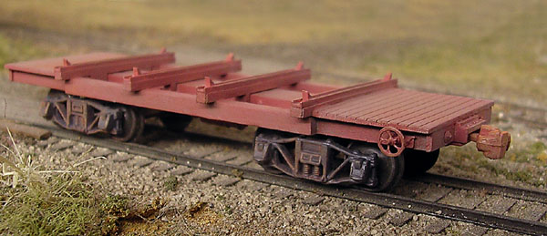 B T S Special Projects Mccabe Log Car