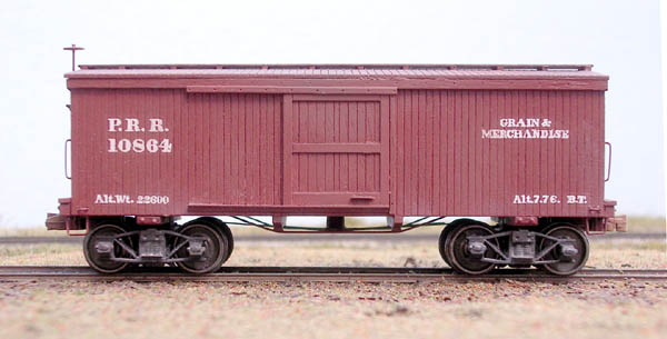 B T S Expansion Era Series Prr Xa 28 Box Car