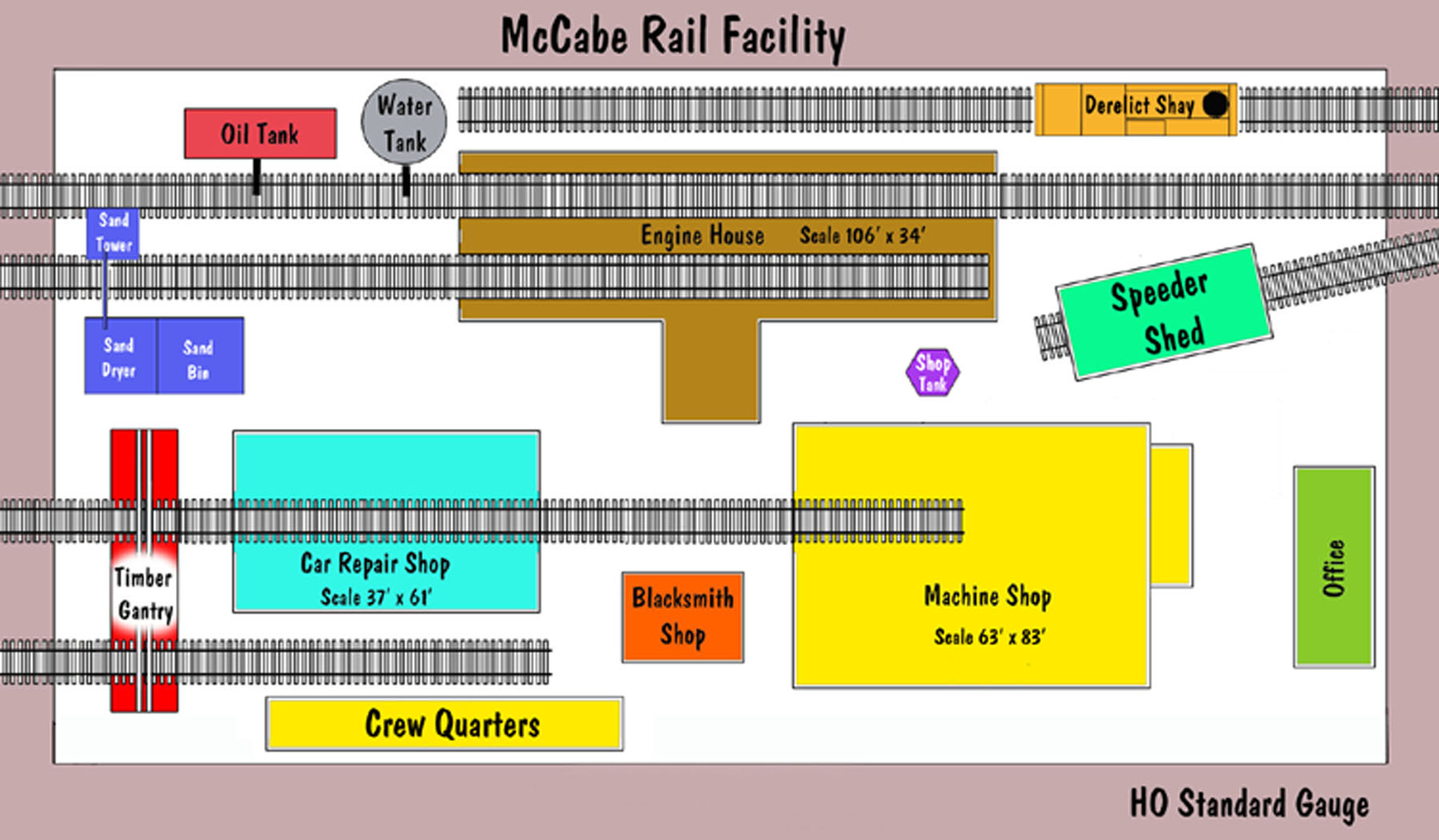 B T S Mccabe Series Rail Facility Plan